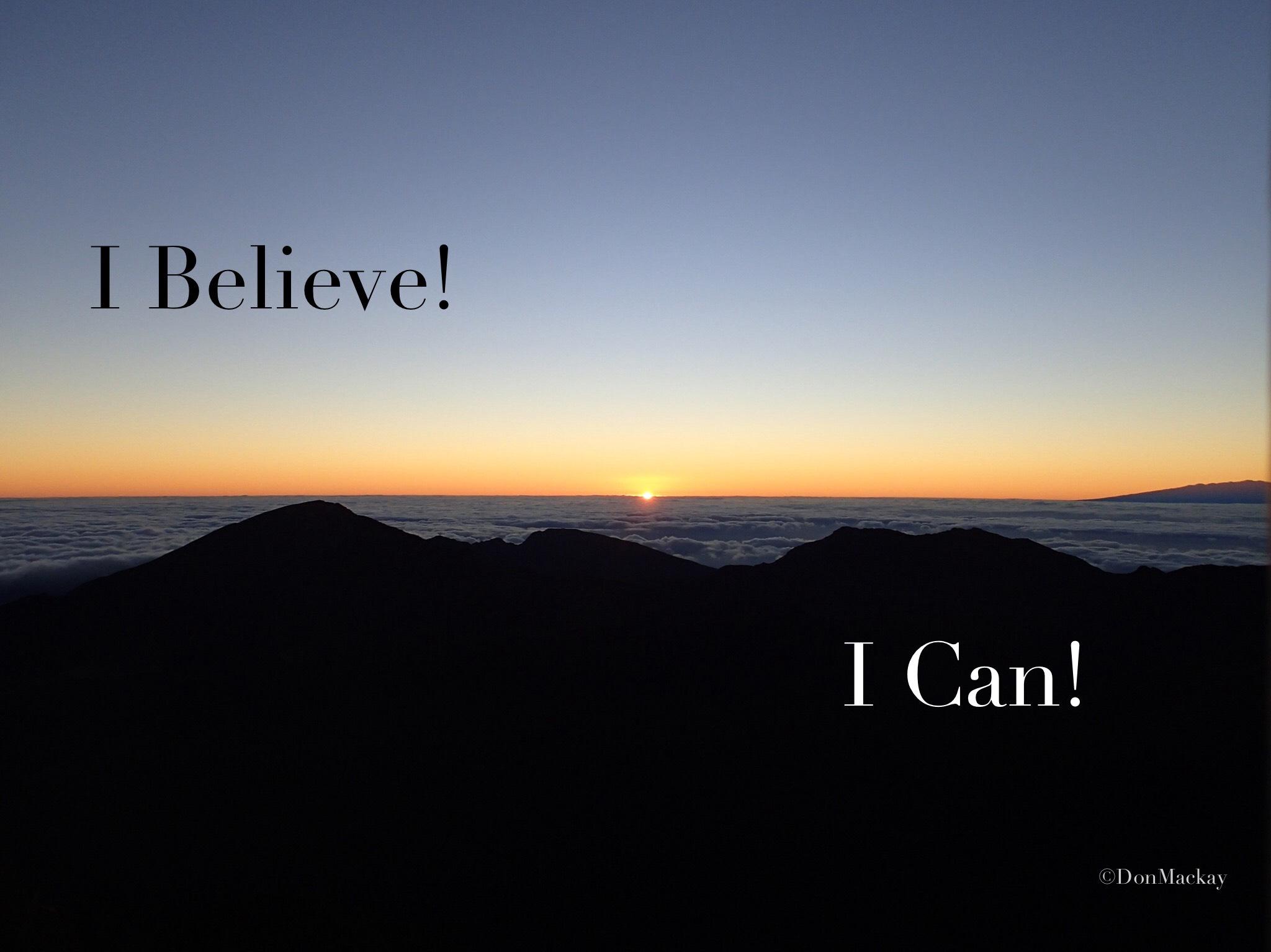 Gratefully Appreciating what I believe!